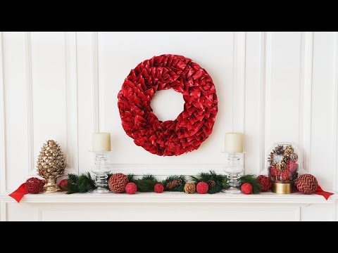 A year-round wreath that won't shed.