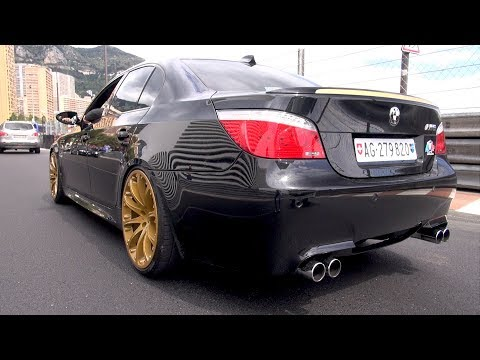 BEST OF BMW M5 V10 ENGINE SOUNDS!