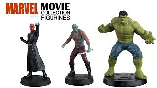 Marvel Figurines Collection - Issues 8 & 9 - Red Skull & Drax - HULK Figurine Special Edition