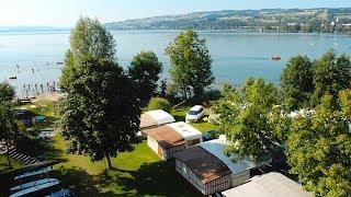 TCS Camping Sempach sulle rive del Lago di Sempach