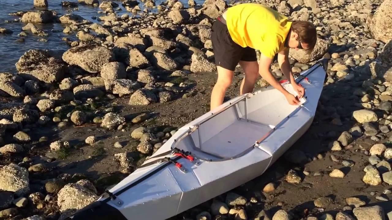 DIY Folding Sit-on-Top Kayak V3 by Frank McFires