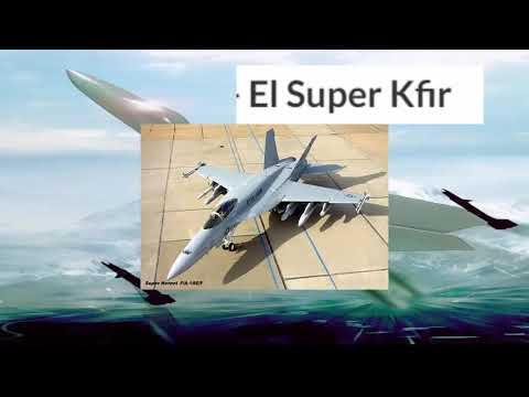 Israel Modificara Kfir, Con Motor Del  F18 Nuevo, Lo Llamara Kfir NG Colombia