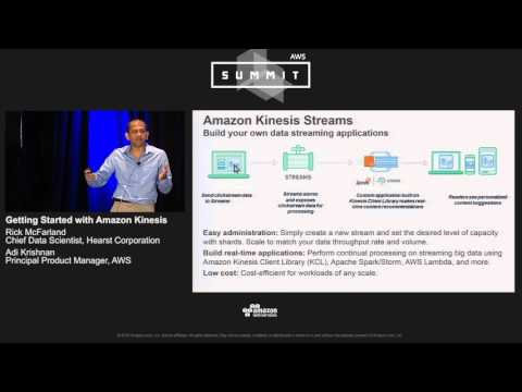 AWS Summit Series 2016 | Chicago - Getting Started with Amazon Kinesis