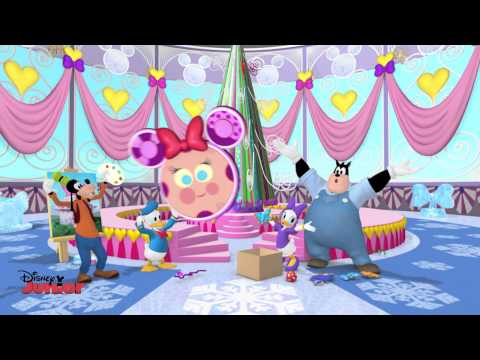 Mickey Mouse Clubhouse - Minnie's Winter Bow Show Song! - Disney Junior UK HD