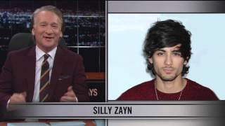 real time with bill maher web exclusive new rule silly zayn hbo