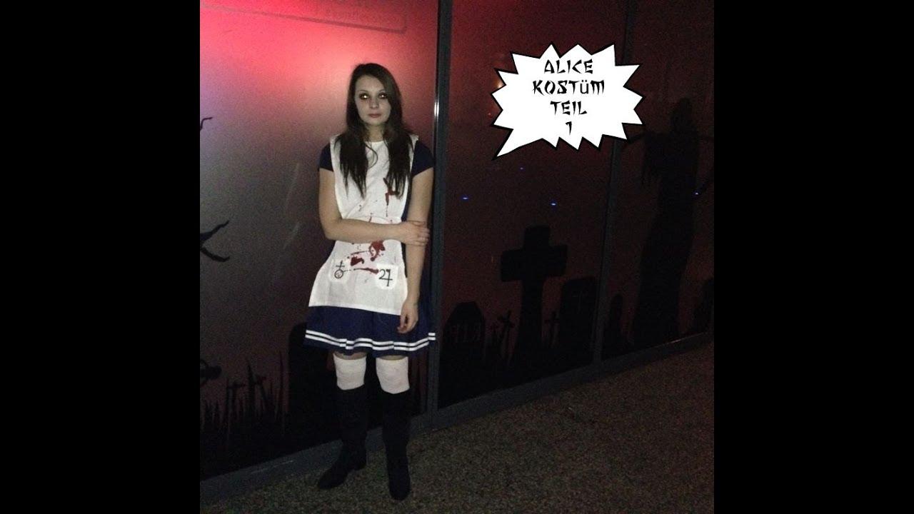 Alice Kostüm Teil 1! Ausmessen und aufmalen - Nerdy Workshop ...