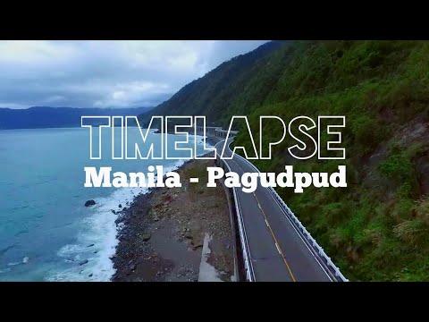 TIMELAPSE (Manila - Pagudpud) 18 hours duration of Travel