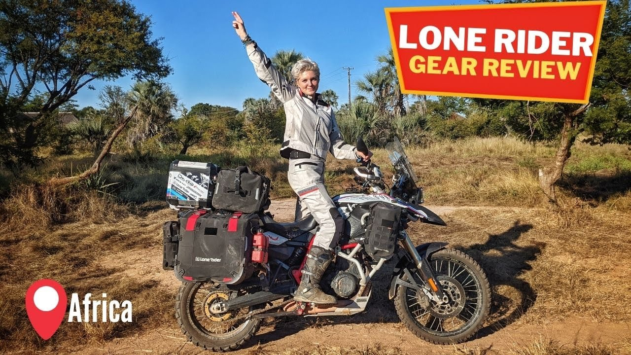 Is Lone Rider Gear Good for Long Distance Travel? SIX Lone Rider Products Review.