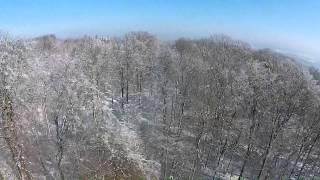 Winterlandschaften aus der Luft