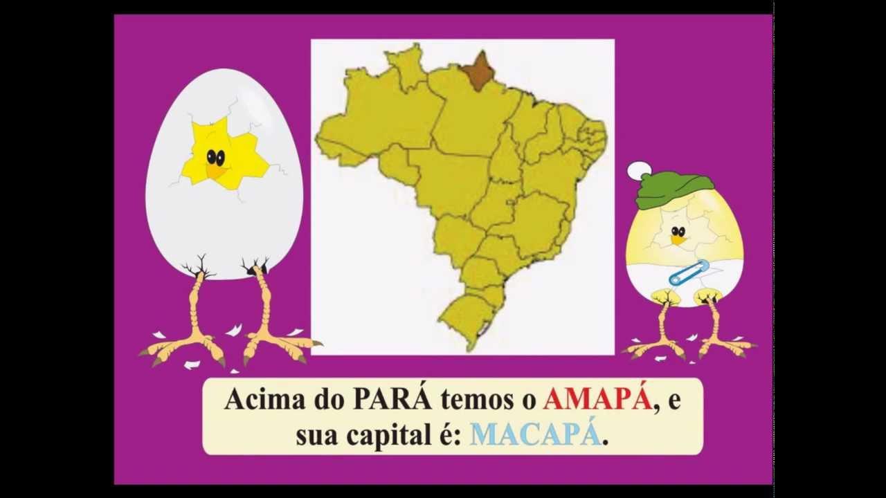 Preferência 042 - BRASIL: Estados e Capitais - DUBLADO - YouTube ZV33