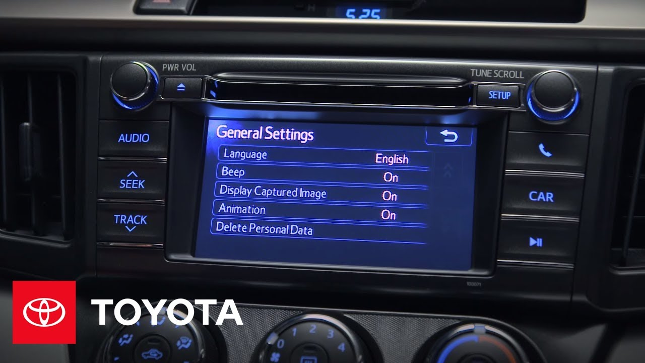 Toyota RAV4 Owners Manual: Audio system