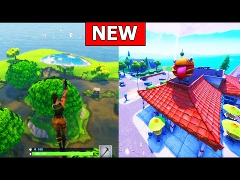 *GREASY GROVE* & *MOIST MIRE* IS BACK! FORTNITE MAP CHANGE (NEW LOCATION)