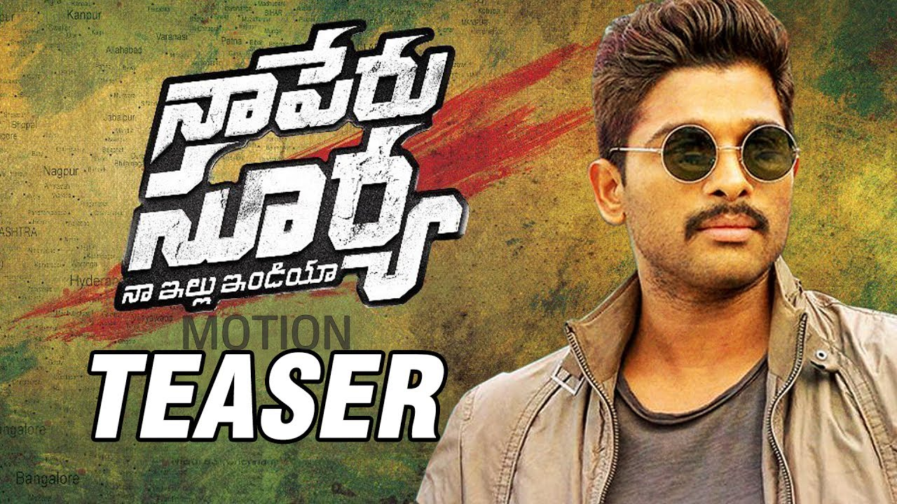 Image result for naa peru surya naa illu india