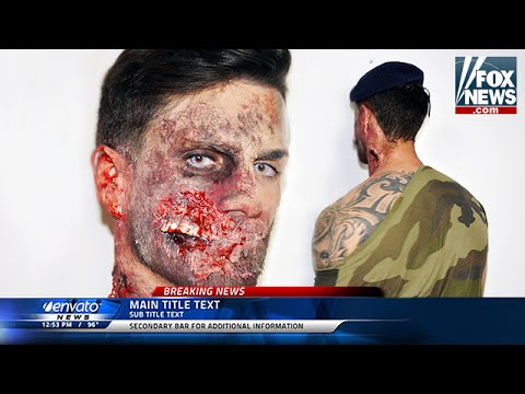 maquillage d'halloween : zombie (the walking dead) - youtube
