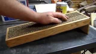 Gpw 12 - Pallet Wood Inclined Cat Scratching Platform