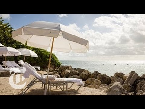Fisher Island Off Miami Coast Seeks to Maintain Seclusion - Paradise Built | The New York Times