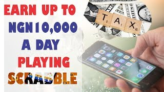 Earn Up to NGN 10,000 a Day Playing Scrabble (Kymoplay) | Word Games