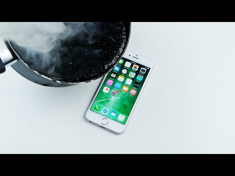 Don't Pour Hot Molten Tar on an iPhone 6S!