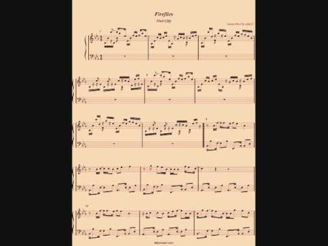 Fireflies - Owl City (Piano Cover) by Aldy Santos