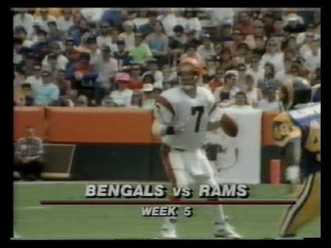 Cincinnati Bengals @ L.A Rams, 1990