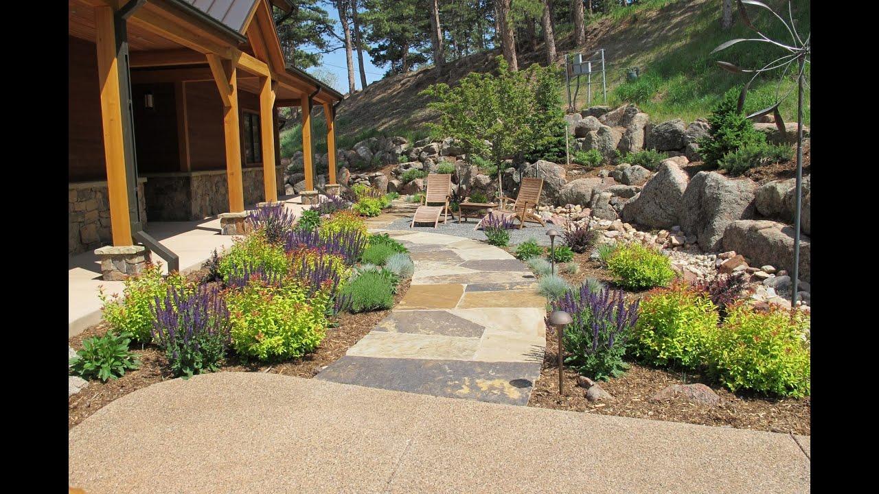 landscape design colorado springs - YouTube on Mountain Backyard Ideas id=19952