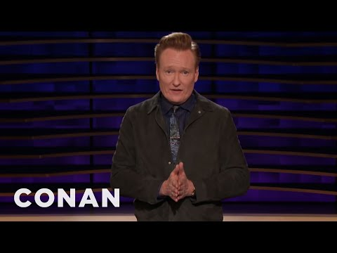 Conan Has Been Telling The Same Trump Joke For Two Years - CONAN on TBS