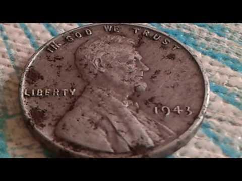 👉 $ 1.000.000 👈 1943 Wheat Steel Penny Worth A Million Dollars