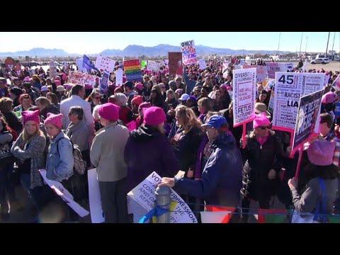 تظاهرات ضد ترامب لليوم الثاني في لاس فيغاس