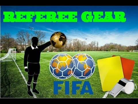 GEAR NEEDED FOR SOCCER REFEREES.