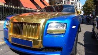 CAR PORN: Arab Gold Rolls-Royce Ghost