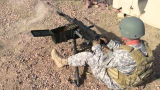 M2 Browning 50 Caliber Machine Gun - Speed Loading