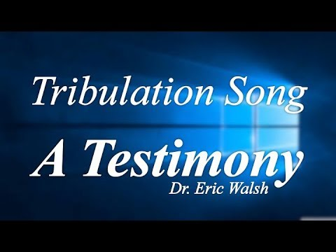"Seminar 3pm: ""Tribulation Song: A Testimony"""