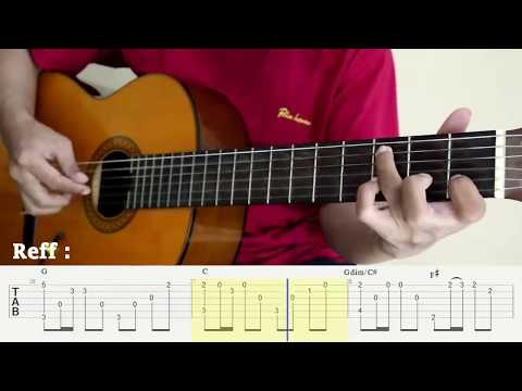 Sampai Menutup Mata - Acha Septriasa - Fingerstyle Guitar Cover - Tutorial TAB