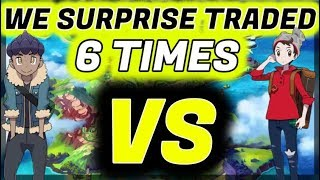 6 Surprise trades Then We FIGHT - Pokemon Shield