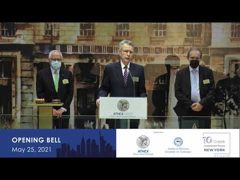 Opening Bell - 10th Greek Investment Forum in New York