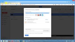 Cómo compartir fotos en Google Drive