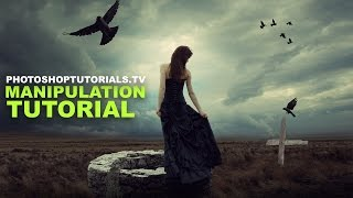 Photoshop Manipulation Tutorial: Dreamscape