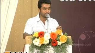 Surya at Agaram Foundation Award Function 2013