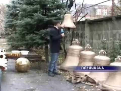 Освящение армянских церквей в Москве и Ставрополе.