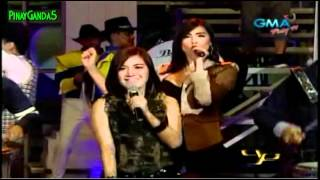 "Party Pilipinas [University] - Rachelle ann Go, Kyla, Jolina Magdangal ""Supersonic"" = 6/24/12"