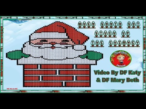 When Santa Got Stuck Up The Chimney (Farmville Version)
