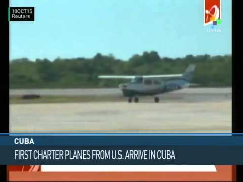 Cuba: First Charter Planes Arrive from U.S.