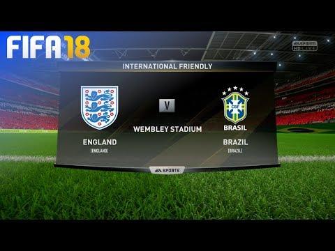 FIFA 18 - England vs. Brazil @ Wembley Stadium