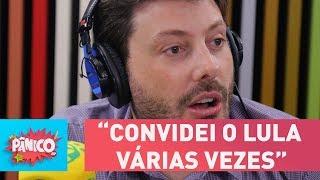 """Gentili diz ter convidado o Lula """"várias vezes"""" para o The Noite"""