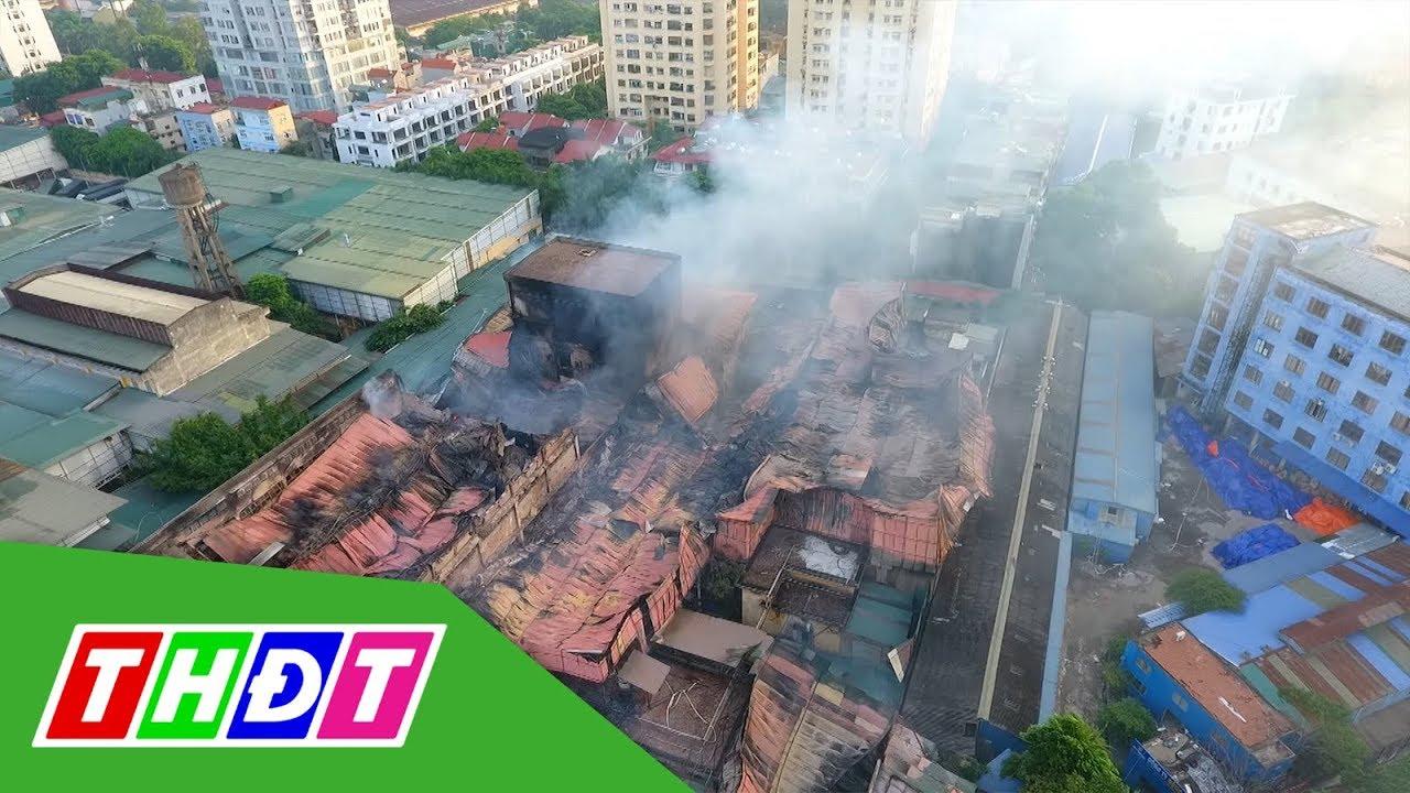 Hỏa tốc mời chuyên gia giám định ô nhiễm sau vụ cháy Công ty Rạng Đông   THDT