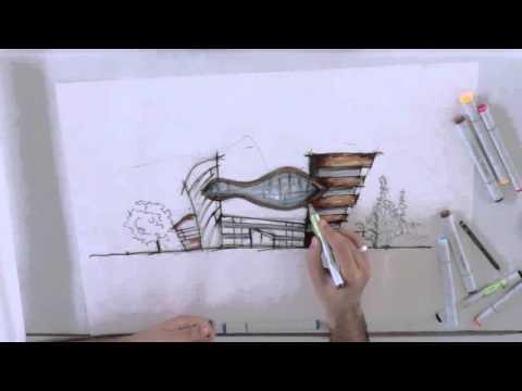 Conceptual Sketch ... AIAS Bahrain
