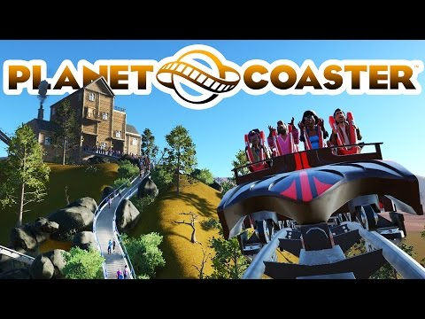 Planet Coaster Alpha 3 Gameplay - Halloween Park! - Planet Coaster Alpha 3 Part 1