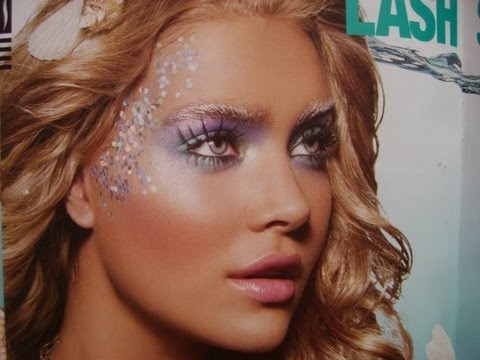 Halloween Mermaid Makeup Tutorial! - YouTube
