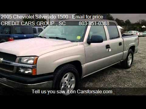 2005 chevrolet silverado 1500 ls crew cab 2wd for sale in le