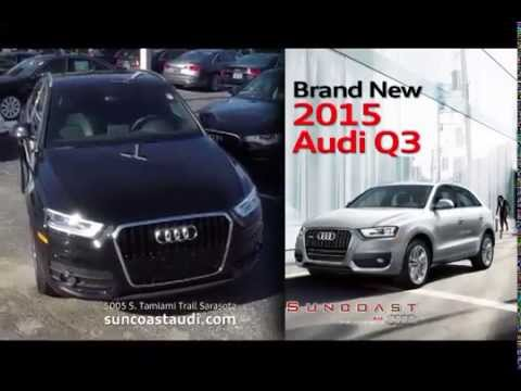 The Brand New Audi Q Is At Suncoast Audi YouTube - Suncoast audi